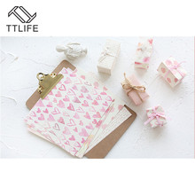 TTLIFE 16 sheets DIY Origami Art Background Paper Handbook Account Booklet 6 inch Handheld Collage Decoration Manual Stickers