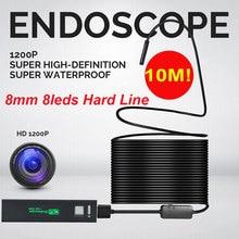 WIFI 1200P Photos Inspection Ear Spoon Borescope Endoscope Practical Monitoring Mobile Phones HD Computers Camera