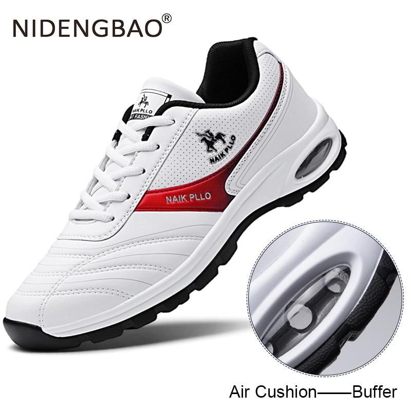 Men Running Shoes Air Cushion Sneakers
