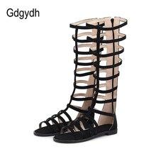 Gdgydh 2020 News Women Sandals Flat Heel Gladiator Female