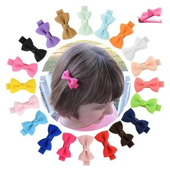 1 piece 1.96 Inch Girls Small Hair Clips ribbon Covered clip With Colorful kids Hair pins Hairgrip headwear Hair Accessories 795 image
