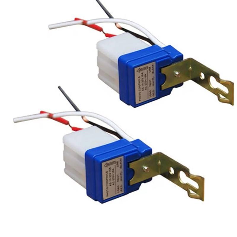 Automatic Auto NightOn DayOff Street Light Switch Photo Control *Sensor 12V 10A
