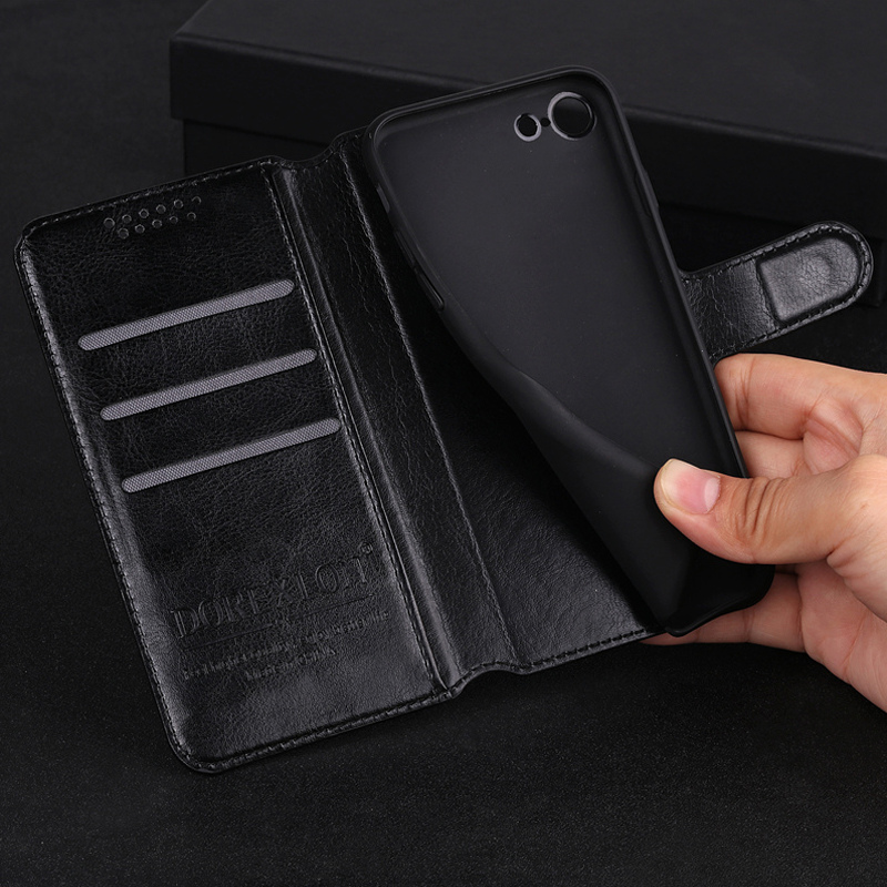 Luxury Wallet Leather Flip Case for <font><b>Samsung</b></font> <font><b>Galaxy</b></font> <font><b>Star</b></font> <font><b>Advance</b></font> <font><b>G350E</b></font> SM-<font><b>G350E</b></font> <font><b>Star</b></font> 2 Plus Phone Back Cover Case With Card Slots image
