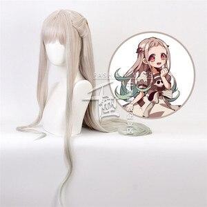 Аниме Туалет Jibaku Shounen Hanako кун Косплэй парики Hanako Кун Гавайская казарка ясиро парик из синтетических волос|Реквизит для костюмов|   | АлиЭкспресс