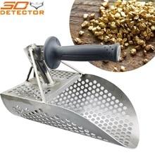 Gold Hunter pinpointer metal detector handheld gold digging tool shovel spade beach scoop stainless steel scoop
