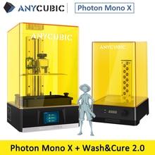 ANYCUBIC Photon Mono X 3d Printer 8.94K Monochrome LCD Huge Build Volume 192*120*245mm Support APP Remote Control impresora 3d