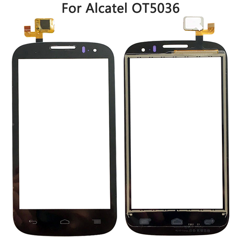 New OT5036 Touch Screen For <font><b>Alcatel</b></font> One Touch Pop C5 <font><b>5036D</b></font> OT5036D 5036 Touch Sensor Panel Digitizer Front Glass Lens Panel image