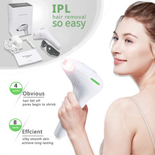 Permanent IPL Hair Removal Device - Uses Intense Pulsed Light Technology for Permanent Reliable Body Hair Hair Removal System