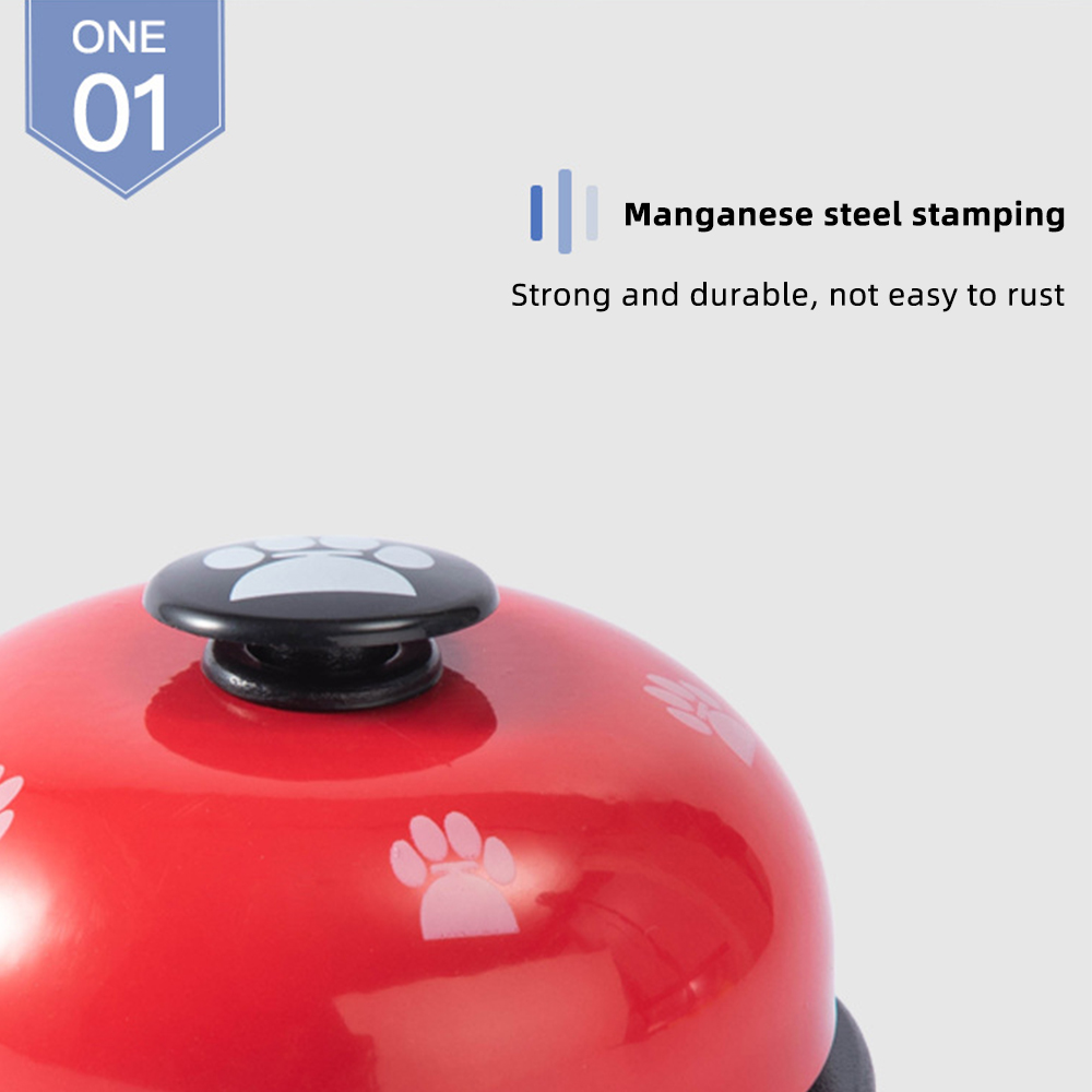 Pet Training Supply Dog Call Bell Dog Training Equipment Interactive Bell Eating Food Feeder For Dog Training Communicate Device-5