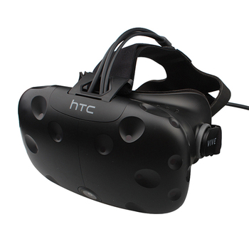 For VIVE Virtual Reality VR Headset Only with face cushion & long Cable 90% New Testing before shipment
