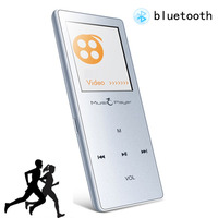 Ultrathin Bluetooth MP3 Player 8GB Lossless Touch Screen Wireless Pedometer Function FM Voice Recording Audio USB X01