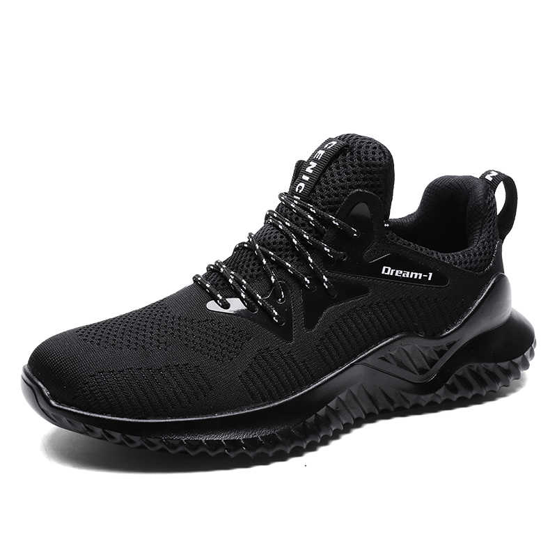 Erkek spor ayakkabı bahar sonbahar nefes hava Mesh koşu ayakkabısı açık spor ayakkabılar çift yastık daireler eğitim Zapatos De Hombre