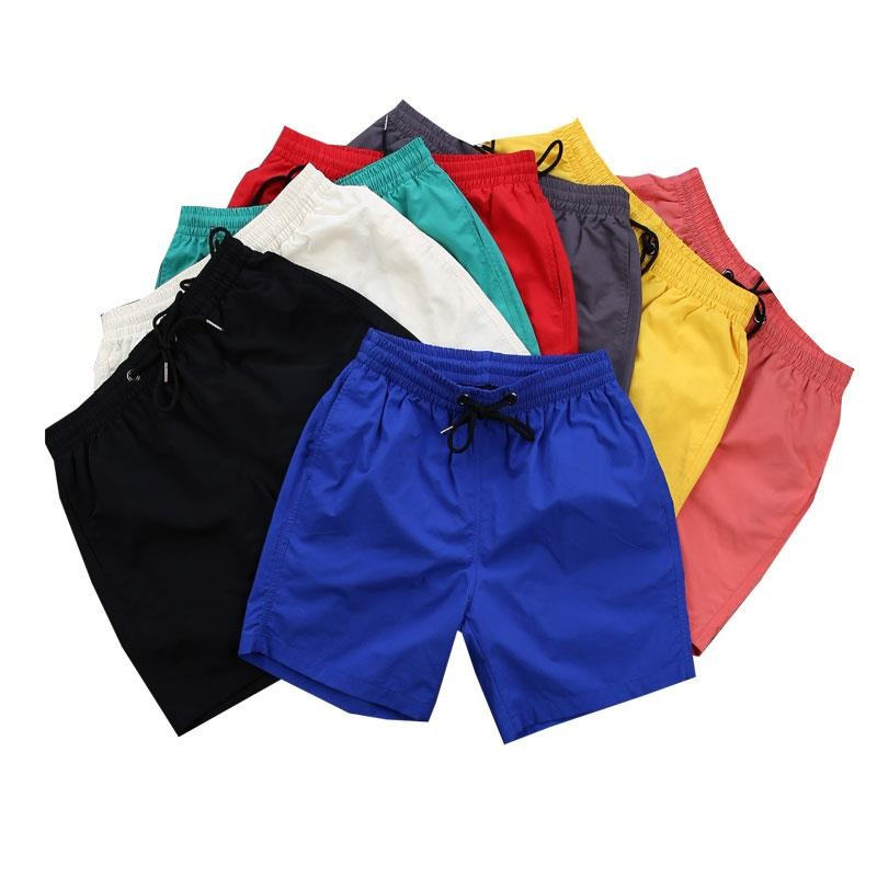 NiceMix Summer Shorts Men Europe Hotselling Sports Bottoms Solid Color Casual Loose Shorts Beach Wear For Mens Oversized S-3XL