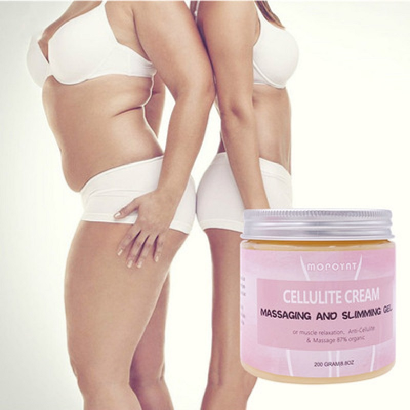 200g Anti Cellulite Weight Loss Cream Massage and  Slimming Gel Muscles-Relaxation Fat Burning Adipose Body Cream 87% Organic