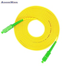 SC to SC FC to FC LC to LC ST to ST UPC Fiber Patch Cord Jumper Cable SM Simplex Single Mode Optic for Network 3m 5m 10m