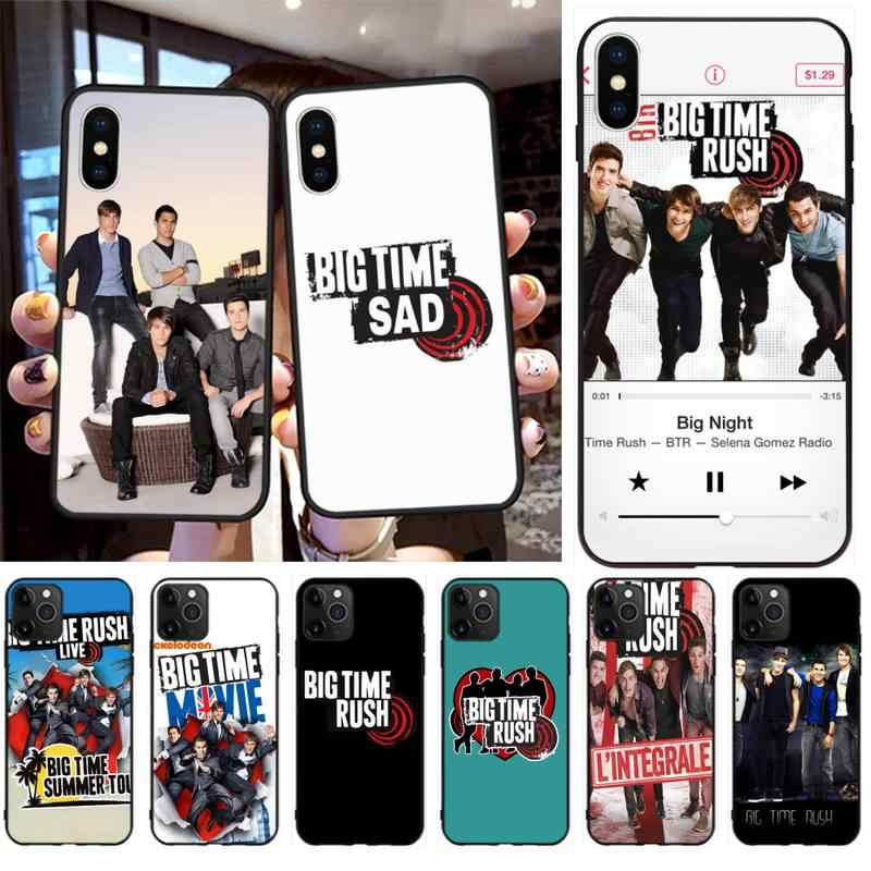 Мягкий чехол для iPhone 11 pro XS MAX 8 7 6 6S Plus X 5S SE 2020 XR Btr Big Time Rush