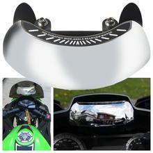 Мотоцикл 180 градусов безопасности зеркало заднего вида в полной