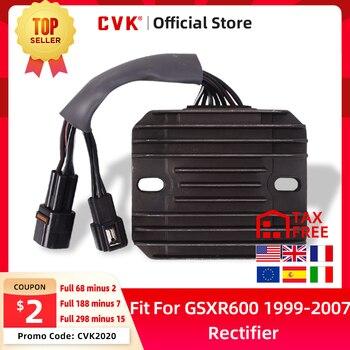 CVK Rectifier Voltage Regulator Charger For SUZUKI GSXR600 GSXR750 GSXR1000 GSX-R GSX 600 750 1000 R 2005 2006 2007 2008 SV650 free shipping moto brake rotor disc for suzuki gsxr600 97 12 sv650 650s 03 09 gsxr750 96 12 gsxr1000 01 11 sv1000 sv1000s 03 07