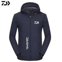 2020 DAIWA Angeln Jacken Herbst Winter Fleece Dicke Warme Wasserdichte Angeln Kleidung DAWA Outdoor Sport Angeln Westen|Anglerbekleidung|Sport und Unterhaltung -