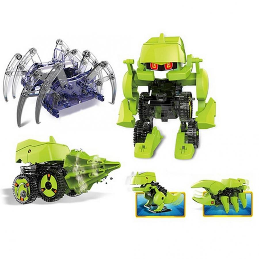 Solar Spider Dinosaur Robot DIY Assemble Educational Science Children Toys Gift toy story costumes adult
