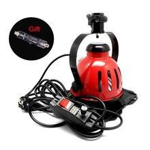 Selens Рыжий светильник с регулятором яркости 800 Вт 220 В/110 В для студийной съемки, непрерывный светильник, студийный светильник для фотосъемки