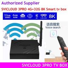 [Оригинал] 2021 Svicloud 3pro/3plus AI Голосовое управление 8k UHD android 10 SVICLOUD 3S 6K UHD Малайзия Сингапур США Канада PK EVPAD