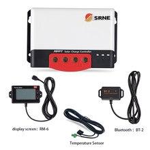 Controlador de carga solar, 50a mc2450n10 srne mppt 12v 24v para o sistema de casa solar com função bluetooth