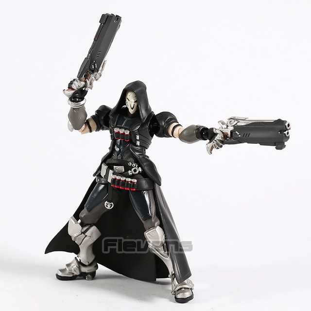 Hot Game OW Reaper Figma 393 PVC Action Figure Collectible Model Toy 6