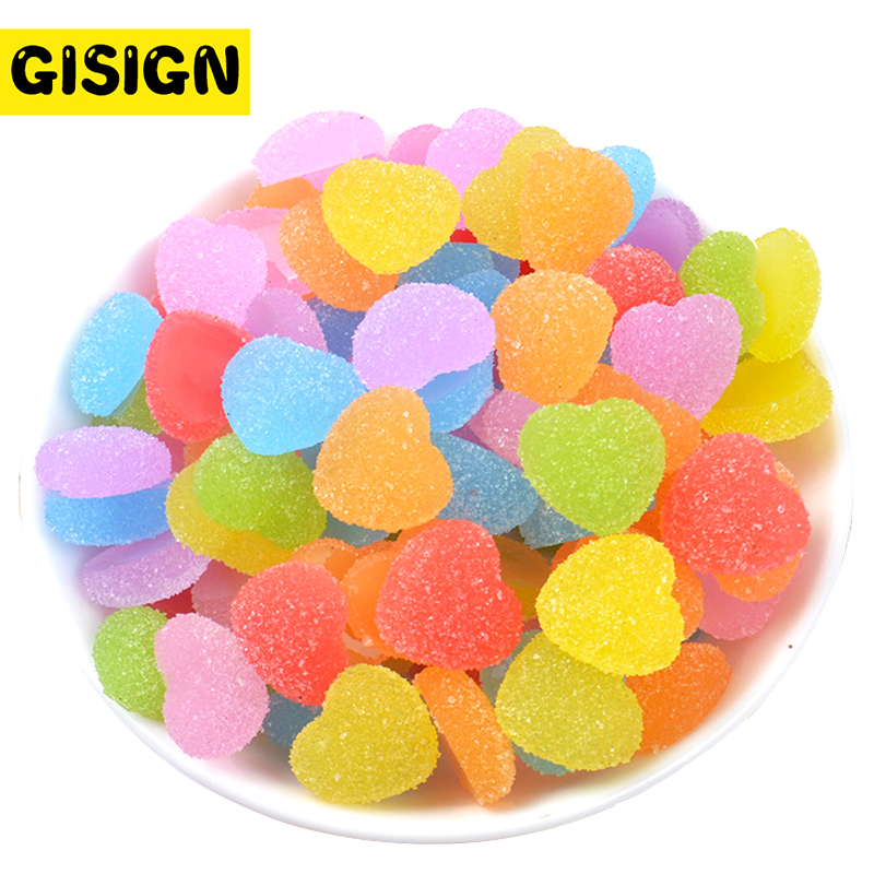 Slime charms 5Pcs Rainbow Candy Supplement Charms for Slime Polymer Addition Slime Accessories Toy Modeling model tool for kids 3