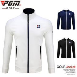 1 pieza de chaqueta de golf PGM ropa de hombre remata la gabardina de los hombres Otoño Invierno chaqueta impermeable caliente a prueba de viento