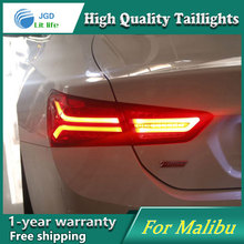 Car Styling Case for Chevrolet Malibu 2015 2016 Taillights Tail lights LED Tail Lamp Rear Lamp DRL+Turn Signal+Brake+Reverse car styling tail lights for suzuki swift 2005 2014 led tail lamp rear trunk lamp cover drl signal brake reverse