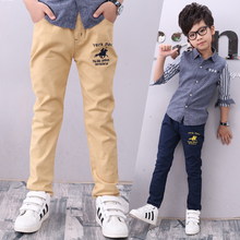 Kids Boys Pants Trousers Clothes 2019 New Hot Casual Cotton Elastic Waist Pencil Pants for Boys Children Clothing camouflage boys trousers 2018 new casual cotton print mid elastic waist harem pants for boys children pants blue green army p300