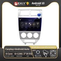 EKIY per Dodge calibre 2009-2012 Autoradio 2din Android 10 DVD Car Multimedia lettore Video navigazione Stereo unità principale GPS FM BT