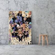 Модульный постер на холсте картины для домашнего декора обезьяна