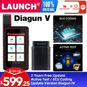 Image 1 - LAUNCH X431 Diagun V OBD2 Auto diagnostic tool full systemCode Reader scanner OBDII OBD Scan tool Update Online pk MK808 CRP909E