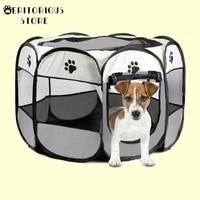 Pet Bett Hund Haus Käfig Katze Outdoor Indoor Hunde Kiste Zwinger Nest Park Zaun Laufstall Für Kleine Medium Big Hunde welpen Haustier Liefert