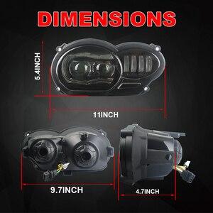Image 2 - Bmw R1200GS R 1200 GS ADV R1200GS LC 2004 2012 フィットオイルクーラーモーターバイク 2018 LED ヘッドライト