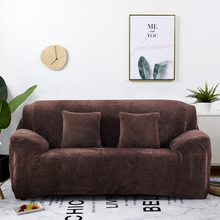 thick plush fabirc sofa cover set 1/2/3/4 seater elastic couch cover sofa covers for living room slipcover chair sofa towel 1PC