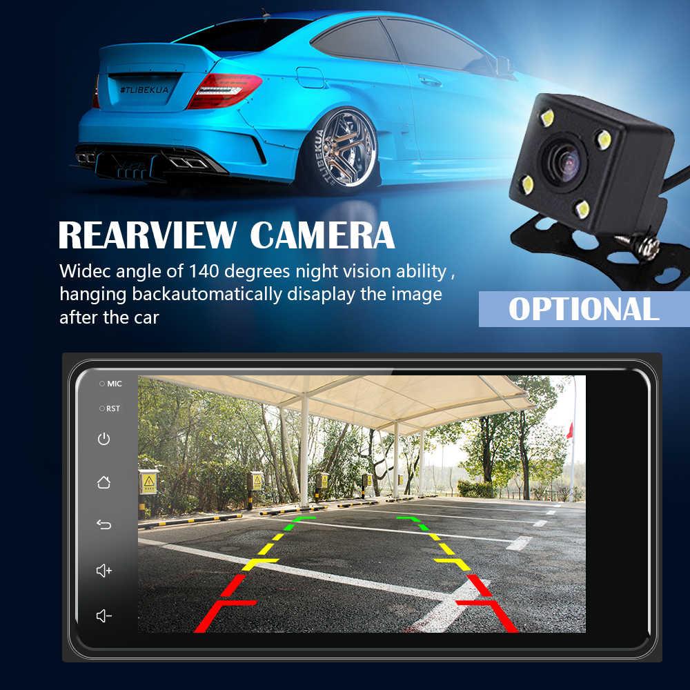 """Amprime 2 DIN Stereo Xe Hơi 7 """"Android Xe Multimed Người Chơi GPS Wifi Autoradio Bluetooth Dành Cho Xe Toyota Corolla Phía Sau xem Camera"""