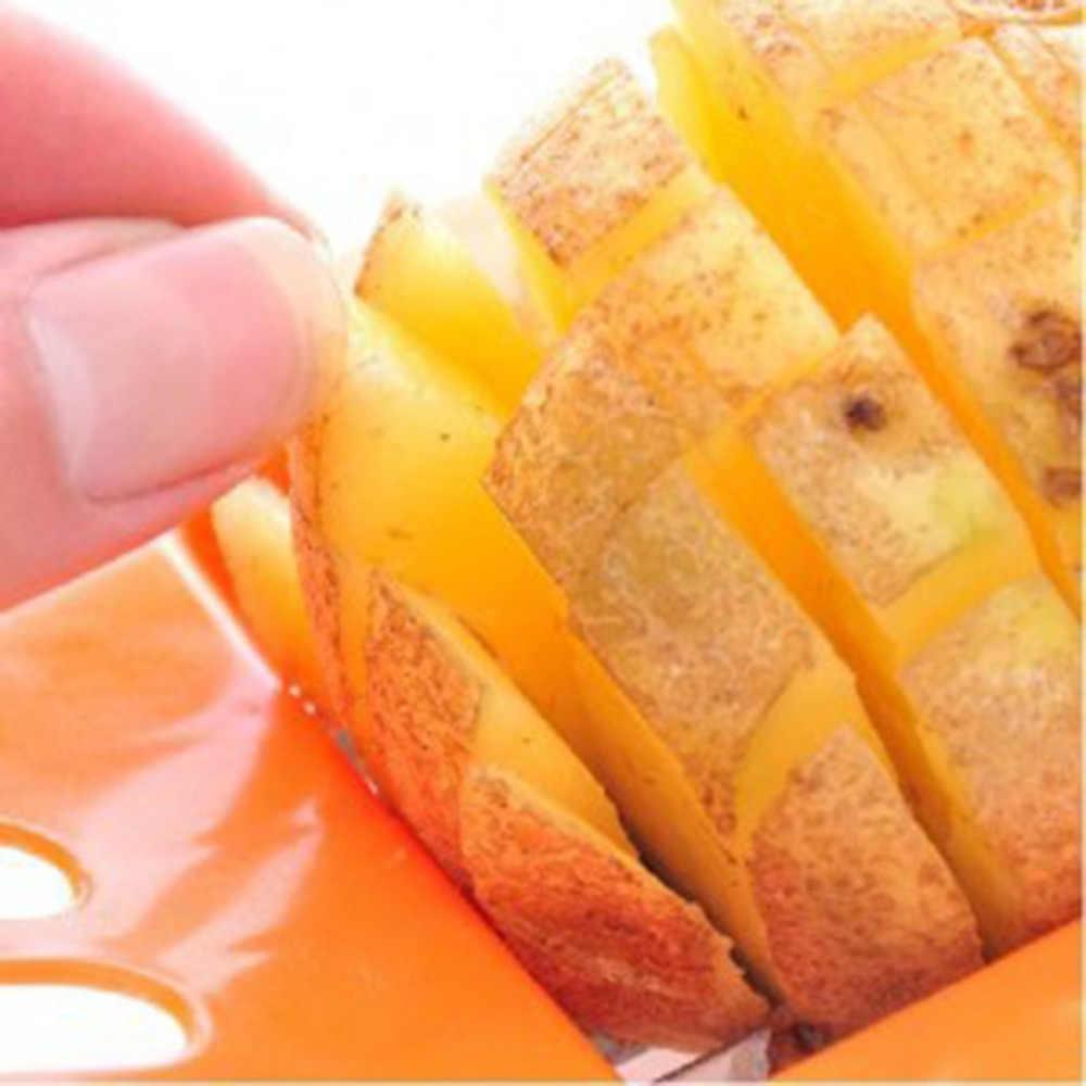 อุปกรณ์ตัดมันฝรั่งตัดFriesชุดทอดฝรั่งเศสเส้นด้ายชุดเครื่องตัดมันฝรั่งแครอทเครื่องตัดผักChopper Chipsเครื่องมือ