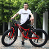 FOREKNOW Mountain Fat Bike 27 Speed Road Bicycle 26 Inch Wheel High-carbon Steel Frame Beach Snowmobile Offroad MTB Fatbike 3
