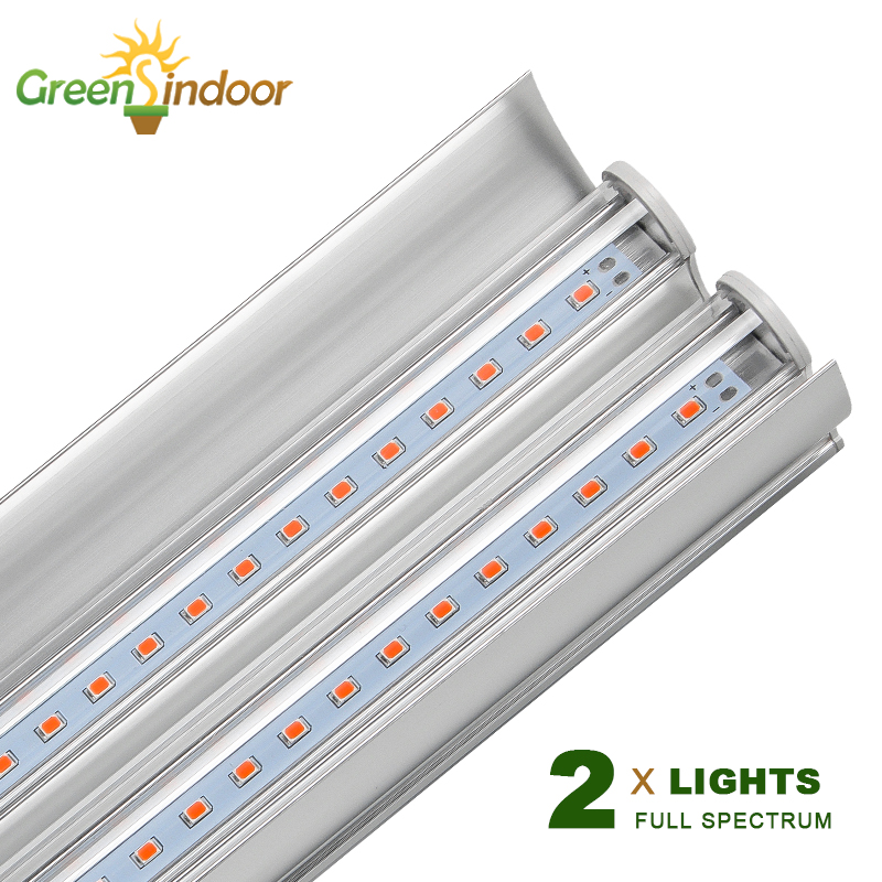 100W LED Grow Light Strips Phyto Lamp For Plants T5 Double Tube Full Spectrum LED Lights For Indoor Growing For Flower And Plant