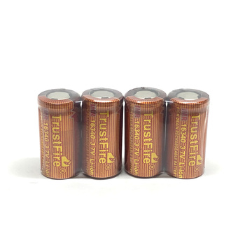 Wholesale Trustfire IMR 16340 3.7V 650mAh High Drain Rechargeable Lithium Battery 20C Discharge for E-cigarettes LED Flashlights