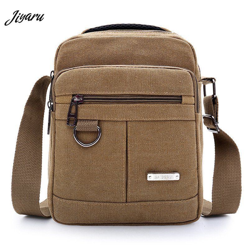 2019 Brand Men Messenger Bags Canvas Casual Shoulder Bags Business Travel Crossbody Bag Packs School Bags For Teenagers