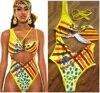 yellow swimsuit