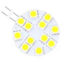 Free Shipment  LED G4 SMD 5050 Wide voltage AC/DC10-30V Yachts Boats Ships Automobiles Carts 12PCS Bulb Lamp Lighting 10pcs/lot