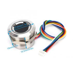 Image 4 - R503 Circular Capacitive Fingerprint Identification Module with 2 Color Ring Indicator Light