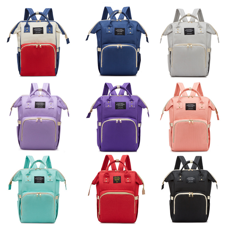 Fashion Mummy Backpack Fashion Mom Daddy BEEKING Mom And Baby Travel Play Mommy Bag