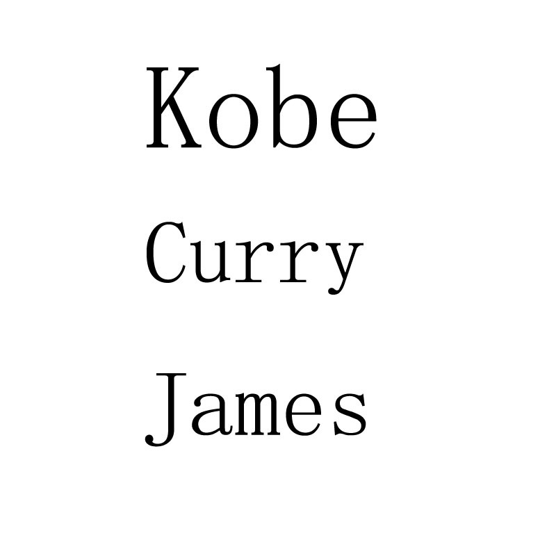 Kobe James Curry 10cm Vinyl Action Figure Toys