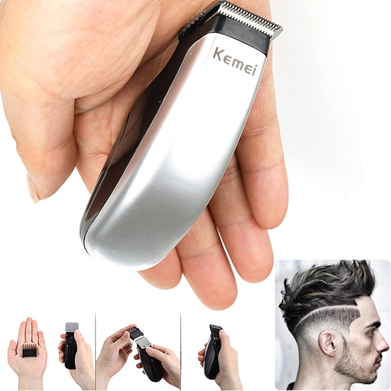 Kemei Electric Hair Clipper Small Hair Trimmer Cutting Machine Beard Barber Razor Men Kemel KM-666 KM 666 KM666 Haircut Tools